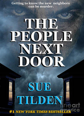 Paperback Jacket Design Photograph - The People Next Door Faux Book Cover by Mike Nellums