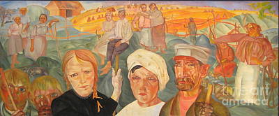 Moscow Painting - The People's Land by Celestial Images
