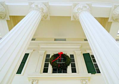 Chief Justice Photograph - The Peter Augustus Jay House Circa 1838 by Diana Angstadt