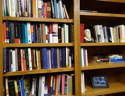 Analyze Digital Art - The Philosophy Professor Bookshelf by Dan Sproul