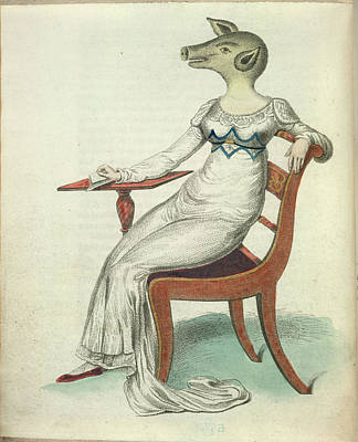 The Pig-faced Lady Print by British Library