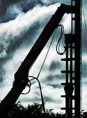 The Pile Driver Print by Steve Taylor