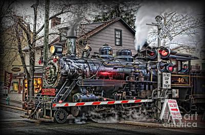 The Polar Express - Steam Locomotive IIi Print by Lee Dos Santos