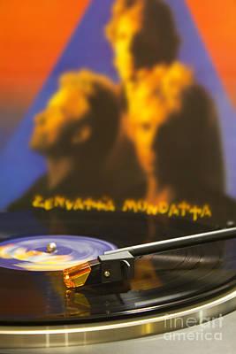 Zenyatta Photograph - The Police Vinyl by Darren Burroughs