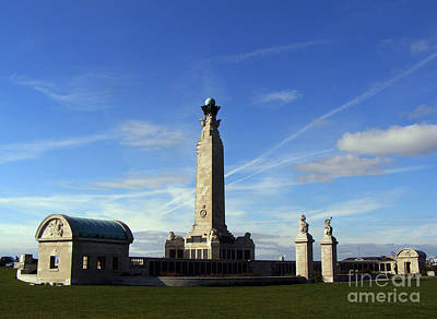The Portsmouth Naval Memorial Southsea Print by Terri Waters