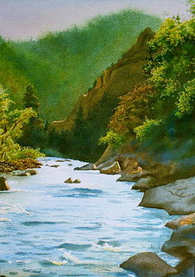 The Poudre River Print by Daniel Dayley