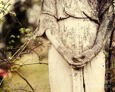 Religious Art Photograph - The Prayer by Sonja Quintero