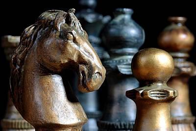 Chess Photograph - The Prelude by Joe Kozlowski