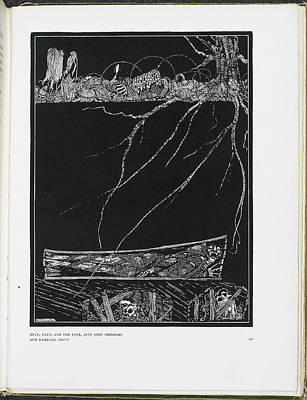 Edgar Allan Poe Photograph - The Premature Burial by British Library