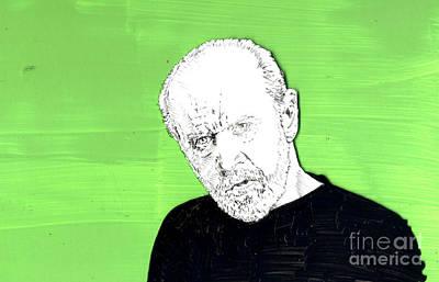 the Priest on Green Print by Jason Tricktop Matthews