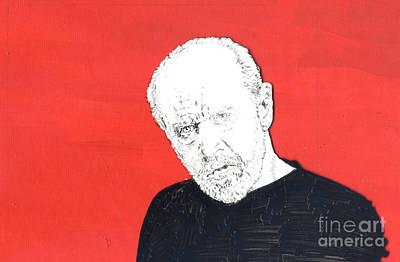 The Priest On Red Print by Jason Tricktop Matthews