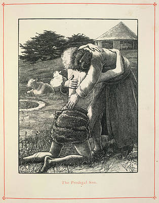 Parable Photograph - The Prodigal Son by British Library