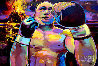 Ufc Painting - The Prodigy by Robert Phelps