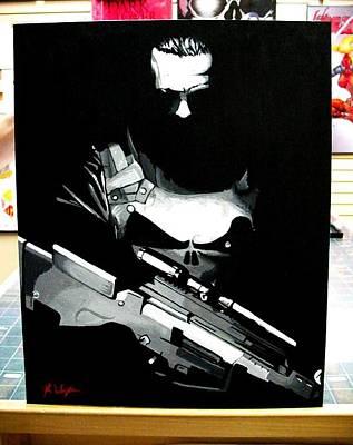 The Punisher Print by Zakk Washington