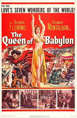 The Queen Of Babylon, Us Poster, Middle Print by Everett