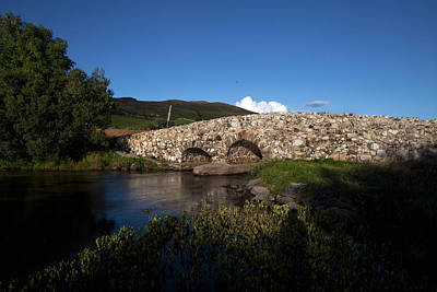 Connemara Photograph - The Quiet Man Bridge Near Oughterard by Panoramic Images