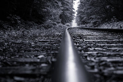 Doppelganger Photograph - The Railway by Alex Land