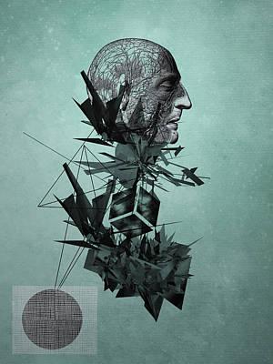 Rain Digital Art - The Raindrops by PandaGunda