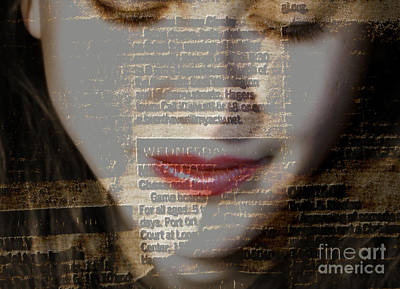 The Reader Print by Steven  Digman
