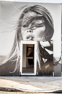 Bardot Photograph - The Art Gallery Inside The Outside Graffiti Gallery by Rene Triay Photography