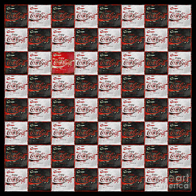 Coca-cola Sign Photograph - The Real Thing - Some People Never Find It Others Only Pretend by John Stephens