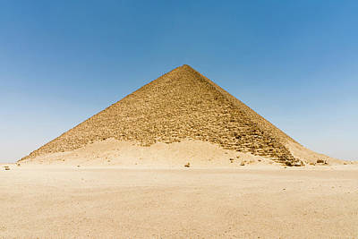 The Red Pyramid (senefru Or Snefru Print by Nico Tondini