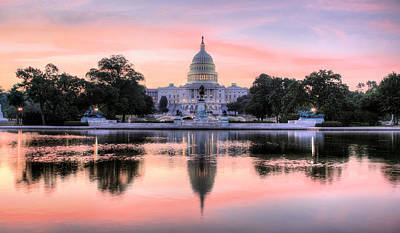 Washington Photograph - The Republic Awakens by JC Findley