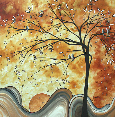 Rust Painting - The Resting Place By Madart by Megan Duncanson