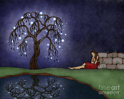 The Resting Place Print by Glenna Smiesko
