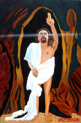 Christian Painting - The Resurrection by John Paul Blanchette