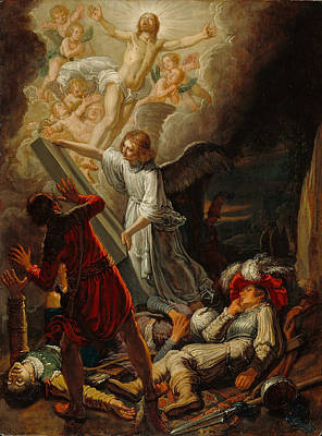 Lastman Painting - The Resurrection by Pieter Lastman