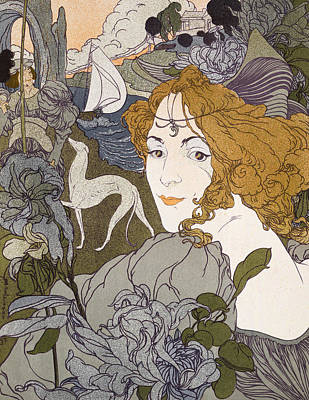The Return Print by Georges de Feure