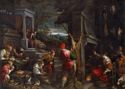 Prodigal Son Painting - The Return Of The Prodigal Son by Francesco Bassano