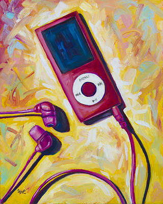 Music Ipod Painting - The Revolutionary by Eve  Wheeler