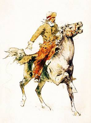 The Rider Print by Pg Reproductions