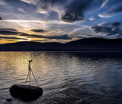 Montana Photograph - The Right Moment by Aaron Aldrich