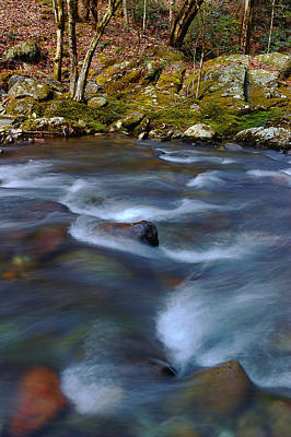 River Scenes Photograph - The River Flows On by Michael Eingle