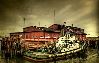 Oregon Photograph - The River Bar Pilot Station by Thom Zehrfeld