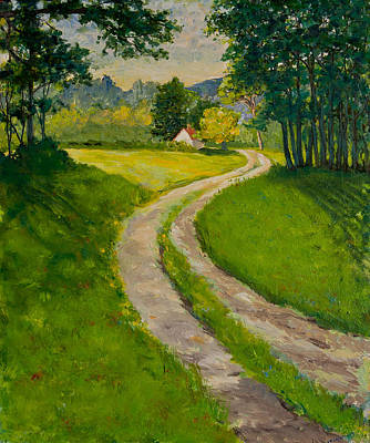 Painting - The Road Home by Betty McGlamery
