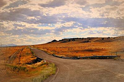 The Road Less Traveled Print by Marty Koch