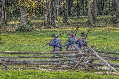 The Road To Gettysburg Print by Randy Steele
