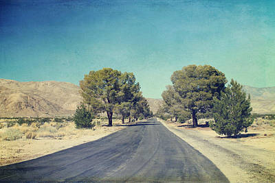 Desert Digital Art - The Roads We Travel by Laurie Search