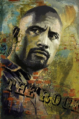 American Artist Painting - The Rock by Corporate Art Task Force