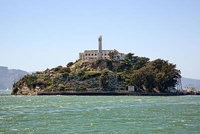 Alcatraz Photograph - The Rock by Kelley King