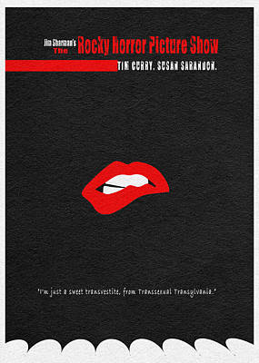 The Rocky Horror Picture Show Print by Ayse Deniz