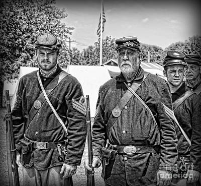 New To Vintage Photograph - The Rocky Road From Dublin - The Irish Brigade - The Civil War by Lee Dos Santos