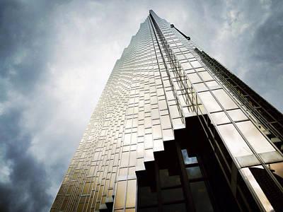 Royal Bank Of Canada Photograph - The Royal Bank Centre Of Toronto by Natasha Marco