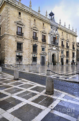 The Royal Chancery Of Granada Print by Guido Montanes Castillo