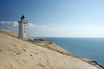 Photograph - The Rubjerg Lighthouse by Robert Lacy