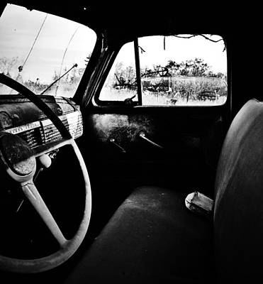 Old Trucks Photograph - The Runaway  by JC Photography and Art